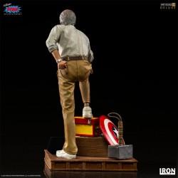 Estatua Stan Lee Deluxe Version Iron Studios Escala 1/10
