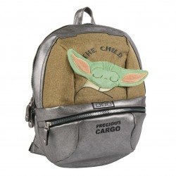 Mochila Casual The Mandalorian Baby Yoda The Child Star Wars