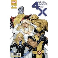 Patrulla-X + 4 Fantásticos 2 (HÉROES MARVEL)