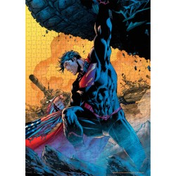 Puzzle Superman Tanque Jim Lee DC Comics 1000 Piezas