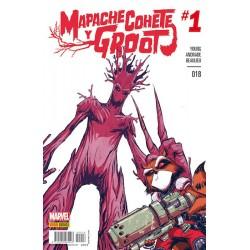 Mapache Cohete y Groot 18