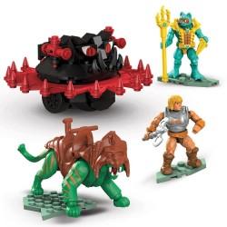 Kit de Construcción Mega Construx Probuilders Gato de Batalla vs. Roton Masters del Universo Mattel