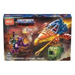 Kit de Construcción Mega Construx Probuilders Panthor en Point Dread Masters del Universo Mattel