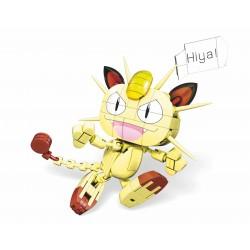 Meowth Pokemon Mega Construx Mattel