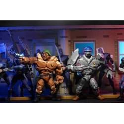 Pack 2 Figuras Tragg y Grannitor Tortugas Ninja TMNT Neca