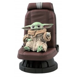Estatua Baby Yoda en Silla The Mandalorian Star Wars Gentle Giant