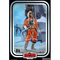 Figura Luke Skywalker Pilot Snowspeeder Star Wars El Imperio Contraataca Hot Toys