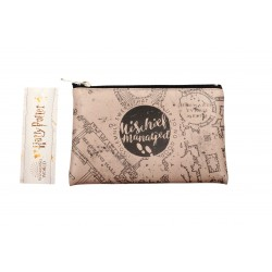 Estuche Rectangular Harry Potter Mapa Merodeador
