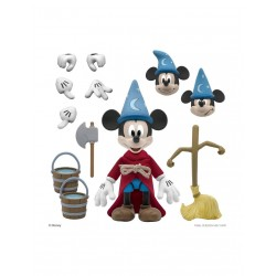Figura Mickey Aprendiz de Mago Fantasía Ultimates Disney Super7