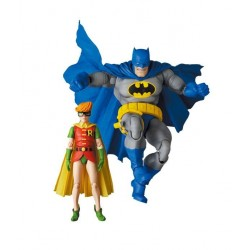 Figuras Batman y Robin The Dark Knight Returns MAF EX Medicom