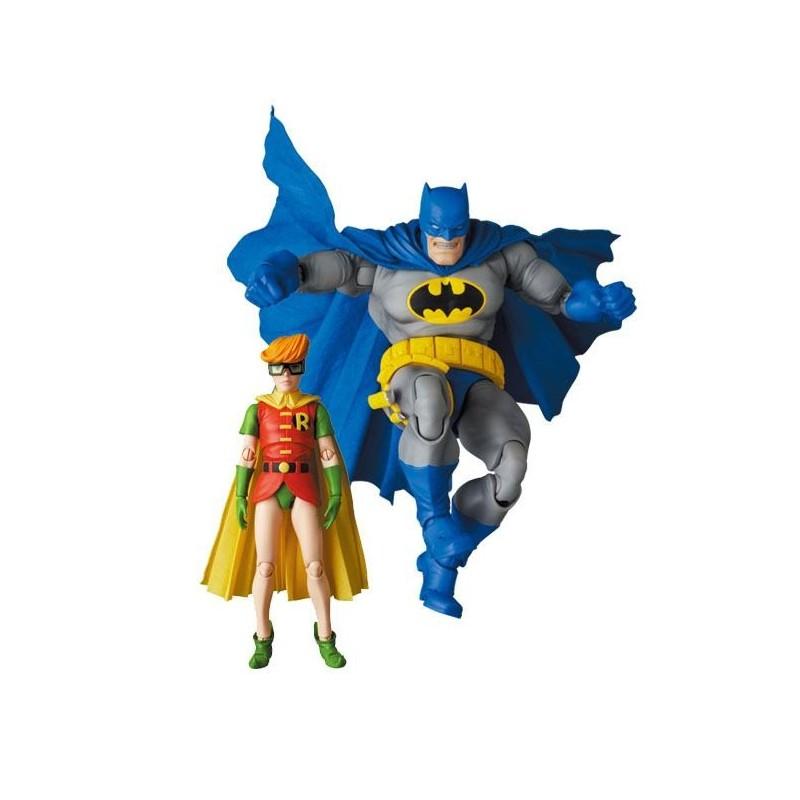 Figuras Batman y Robin The Dark Knight Returns MAF EX Medicom