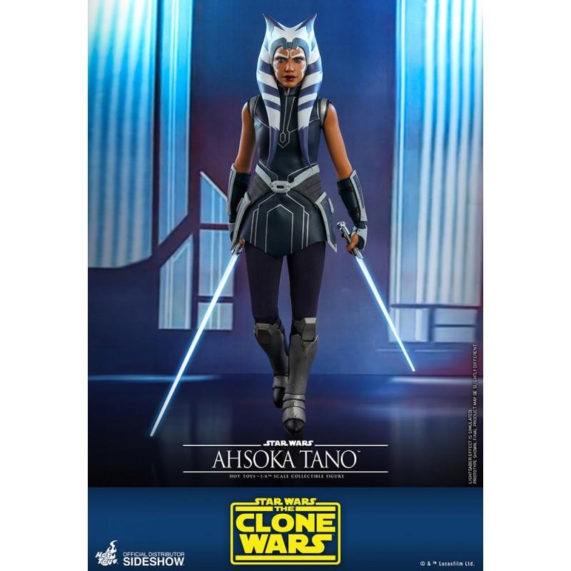 figura ahsoka tano hot toys star wars clone wars comprar