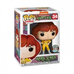 April O'Neil Tortugas Ninja TMNT POP Funko 34