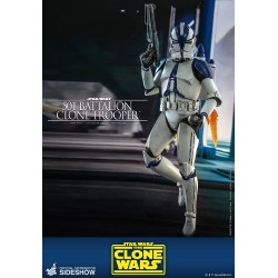 figura clone trooper 501 star wars hot toys clone wars