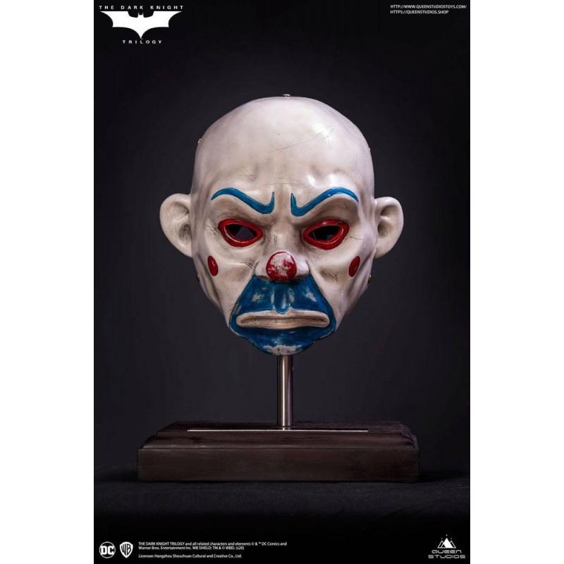 Máscara Joker The Dark Knight El Caballero Oscuro Escala 1/1 Prop Réplica Queen Studios