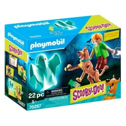 Set Scooby y Shaggy con Fantasma Scooby-Doo! Playmobil