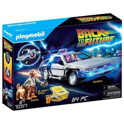 DeLorean Regreso al Futuro Playmobil