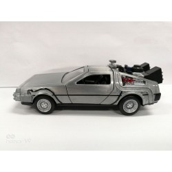 Réplica DeLorean Regreso al Futuro Diecast Model Hollywood Rides