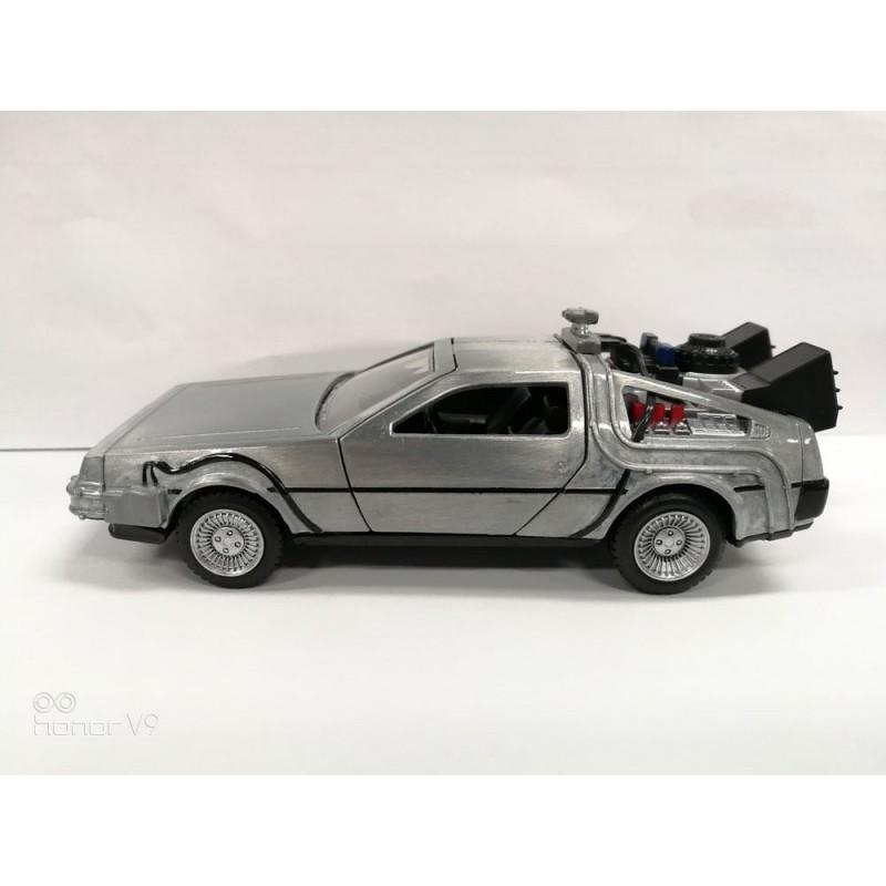 Réplica DeLorean Regreso al Futuro Diecast Model Hollywood Rides