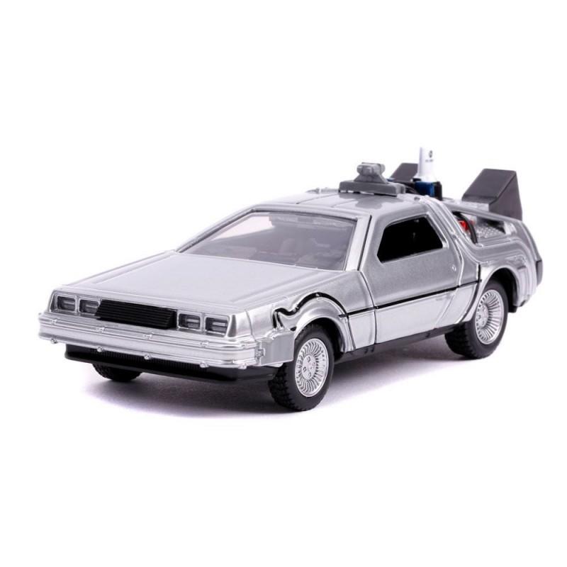 Réplica DeLorean Regreso al Futuro II Diecast Model Hollywood Rides