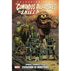 Los Comandos Aulladores de SHIELD 1. Escuadrón de Monstruos