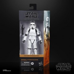 Figura Imperial Stormtrooper The Mandalorian Black Series Star Wars Hasbro
