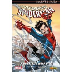 comic El Asombroso Spiderman 46. La suerte de estar vivo panini comics Marvel Saga 105