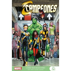 Marvel Young Adults. Campeones   1