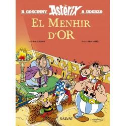 Astèrix El Menhir D'or Salvat catala goscinny uderzo