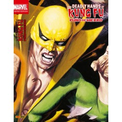comic The Deadly Hands of Kung Fu: Puño de Hierro marvel limited edition