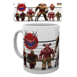 Taza Videjuego Doom Classic Enemigos