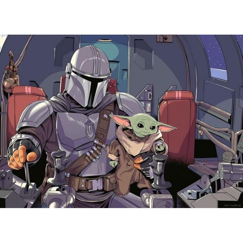Puzzle The Mandalorian Star Wars 1000 piezas