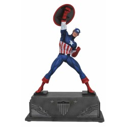 Estatua Capitán América Resina Marvel Premier Collection comprar
