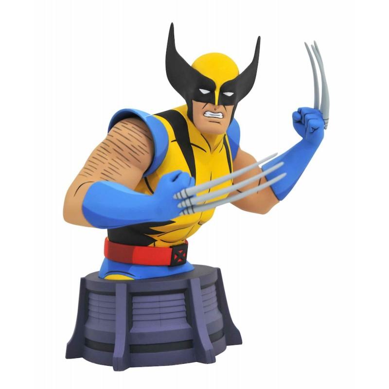 Mini Busto Wolverine (Lobezno) Marvel Animated X Men comprar