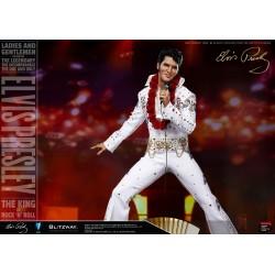 Estatua Elvis Presley Escala 1/4 Blitzway