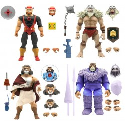 Figuras Ultimate Thundercats Wave 3 Set Completo: Lynx-O,Monkian,Pumm-Ra y Snowman of Hook Mountain comprar