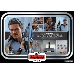 figura lando calrissian hot toys imperio contraataca