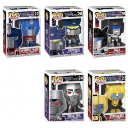 Figuras Transformers POP Funko Set Completo