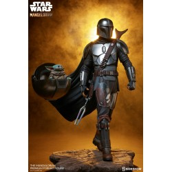 Estatua The Mandalorian Escala 1/4 Premium Star Wars Sideshow