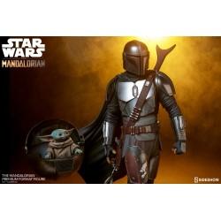 Estatua The Mandalorian Escala 1/4 Premium Star Wars Sideshow
