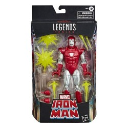 Figura Iron Man Silver Centurion Marvel Legends