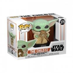 Mandalorian The Child Baby Yoda Con Rana Star Wars POP Funko comprar