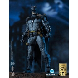 Figura Batman Todd McFarlane Multiverse Gold Label Collection DC Comics