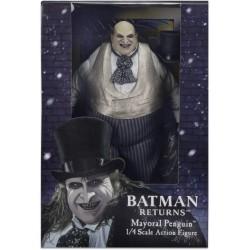 Figuras Batman Catwoman y Pingüino Escala 1/4 NECA
