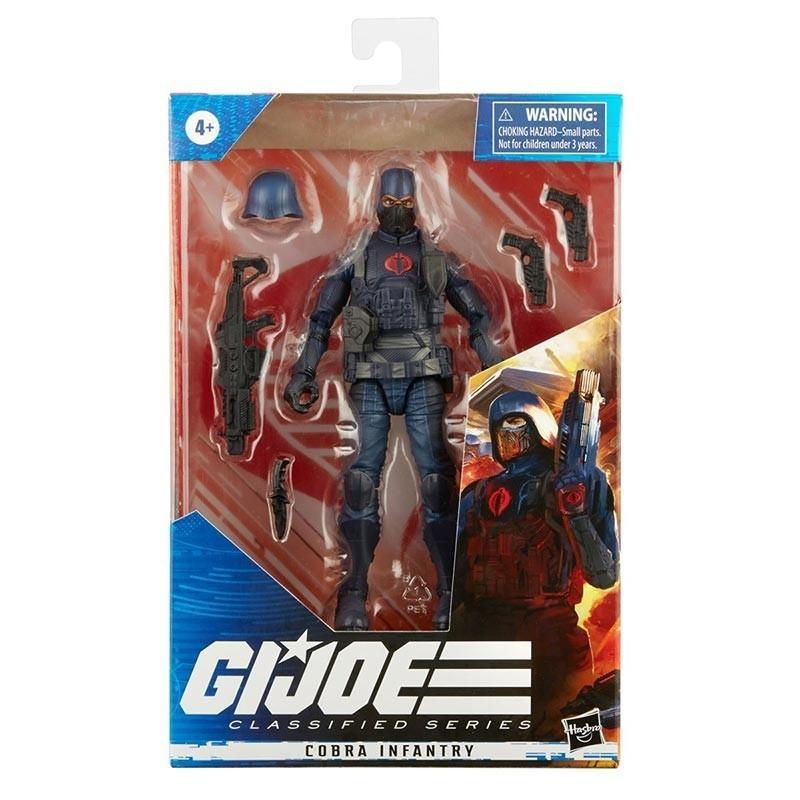 Figura Cobra Infantry G.I. Joe Classified Hasbro