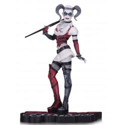 Figura Harley Quinn Red White & Black. Arkham Asylum