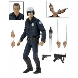 Figura Ultimate T-1000 Policia Motocicleta Terminator 2 Neca