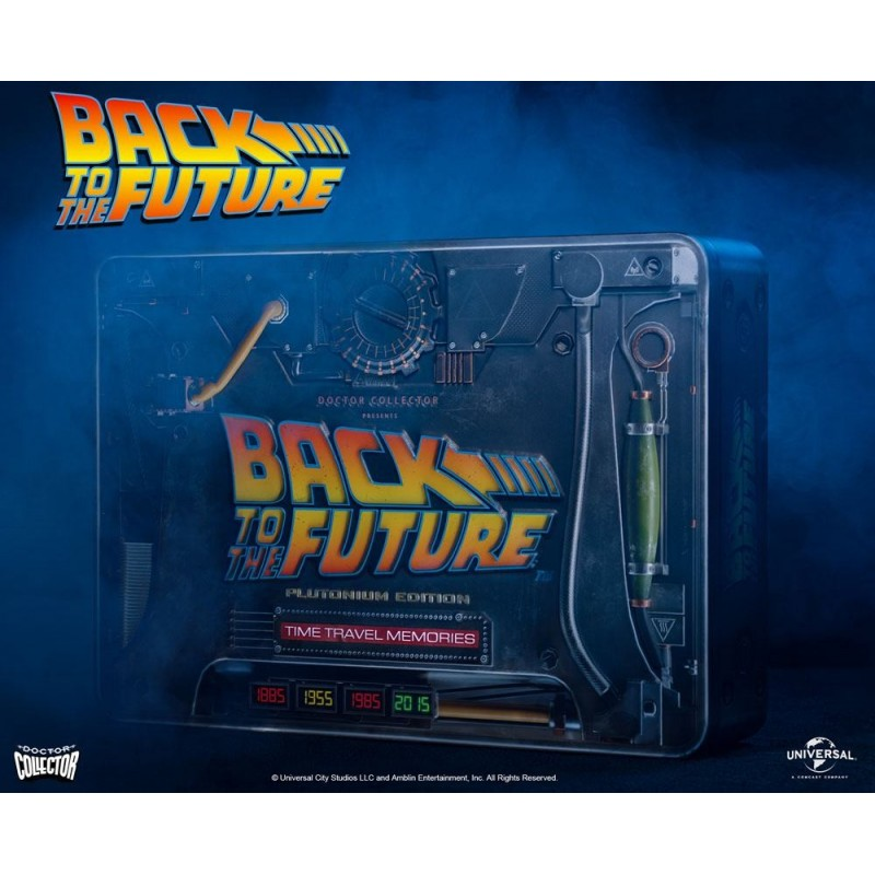 Regreso al Futuro Time Travel Memories Kit Plutonium Edition Doctor Collector