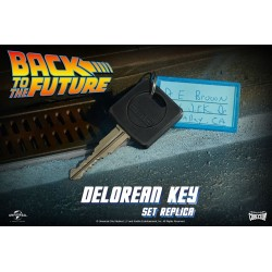 Regreso al Futuro Réplica Llave DeLorean 1/1 Doctor Collector