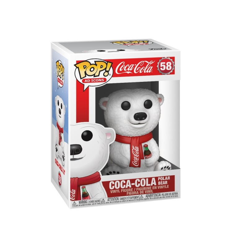 Oso Polar De Coca-Cola POP Funko 58